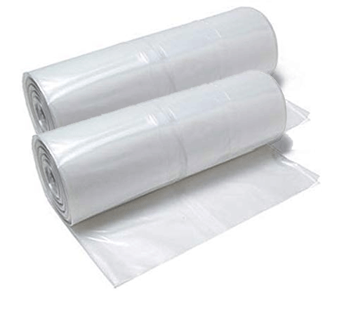 Image of 2 Rolls of Plastic Sheeting for covering broken windows