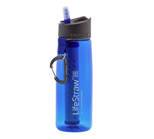 LifeStraw water bottle with filter