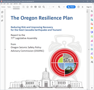 Oregon Resiliency Plan