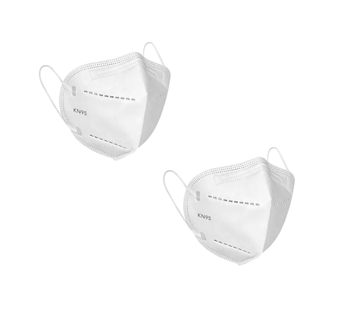 Picture of two dust masks