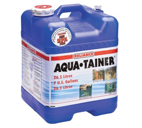 Image of 7 gallon water storage container