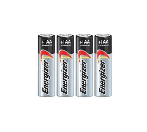 Image of 4-Pack of Energizer Max AA batteries