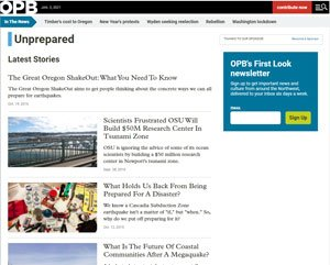 OPB series on Emergency Preparedness