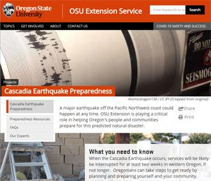 OSU course on emergency preparedness