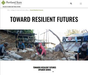 PSU courses on earthquake resiliency
