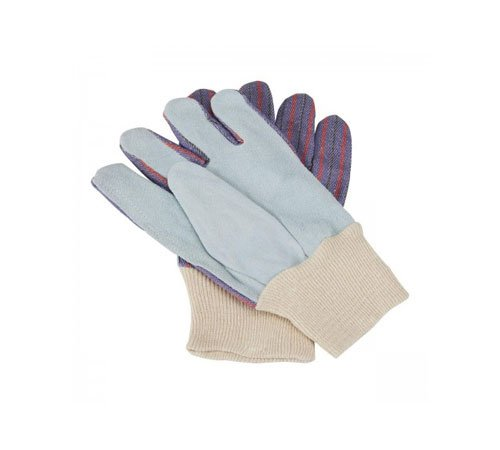 Leather work gloves for emergency kit