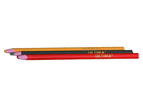 Image of 3 colored grease pencils